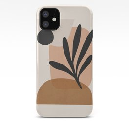Minimal Abstract Art 11 iPhone Case