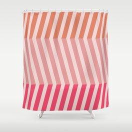 Modern Grids Shower Curtain