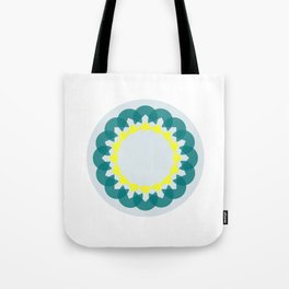 neon kaleidoscope Tote Bag