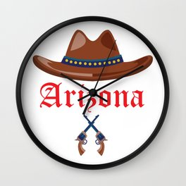 Arizona for Men Women and Kids Wall Clock