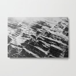 mountain wall Metal Print
