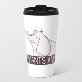 Elephants And Me Travel Mug