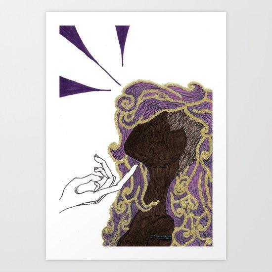 I Dare You Art Print