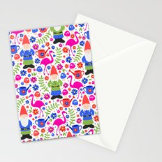 Gnome Garden Stationery Cards