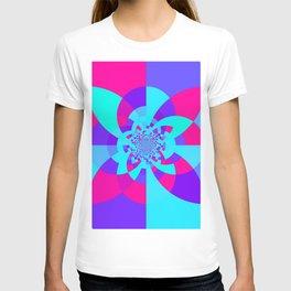 Kaleidoscope Mandala Unicorn Colors T-shirt