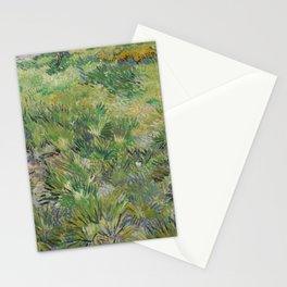 Long Grass with Butterflies Stationery Cards