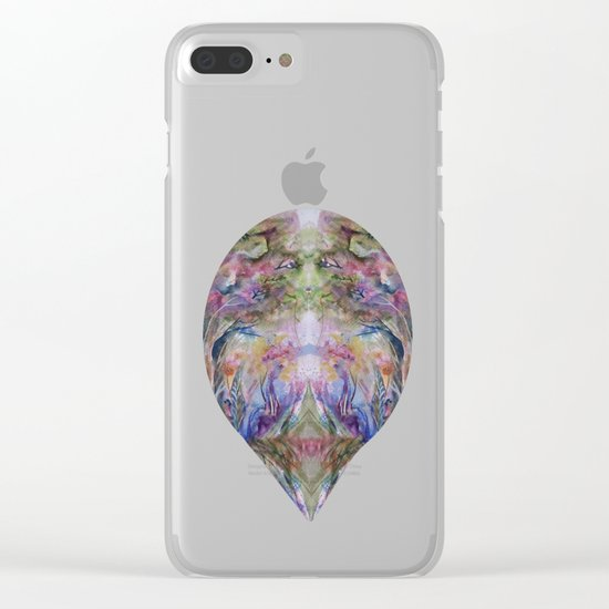 Dance of Nature Clear iPhone Case