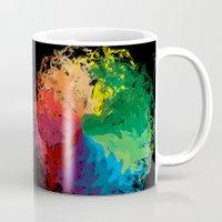 terry fan Mugs featuring Fan by kartalpaf