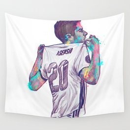 Real Madrid Asensio Wall Tapestry