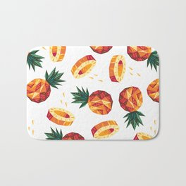 Edgy Pineapple Bath Mat