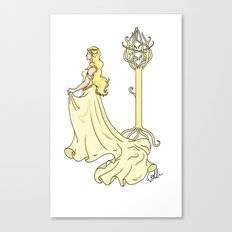 Lady of the Golden Wood Canvas Print