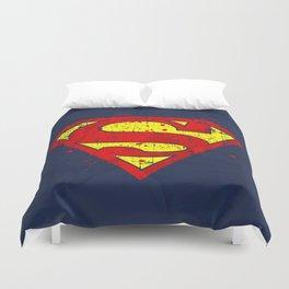 Super Man's Splash Duvet Cover