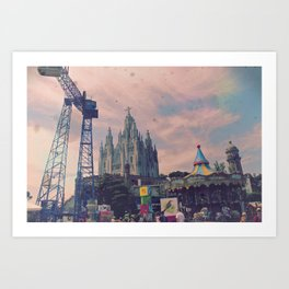 Carnivals and Colors and Castles and Churches Art Print