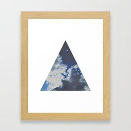 geometry. Framed Art Print