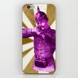 Pink Soldier iPhone Skin