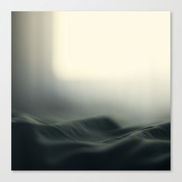 a sea of bed covers ...  Canvas Print