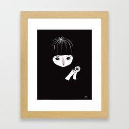 Penny's Palm Framed Art Print