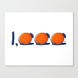1,000 Wins Canvas Print