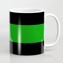 The Thin Green Line Coffee Mug