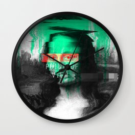 Fucking Point Of View Wall Clock