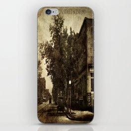 Washington Street Scene iPhone Skin