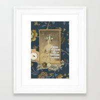 cartoons Framed Art Prints featuring marshmallows and cartoons by jotjoy