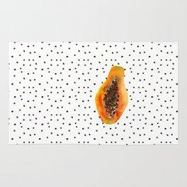 Papaya vibes Rug