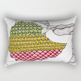 Patterns on Ethiopia Rectangular Pillow