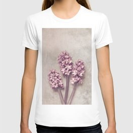 Lovely pink Hyacinths T-shirt