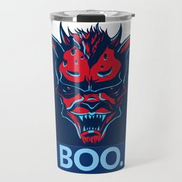 Boo. Demon Travel Mug