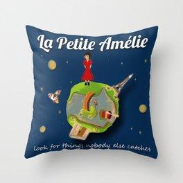 La Petite Amelie Throw Pillow