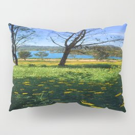 Springtime Comes to Lake Murray, La Mesa, CA Pillow Sham