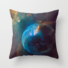 NGC 7635 Bubble Nebula Throw Pillow