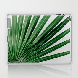 Palm Leaf Detail Laptop & iPad Skin