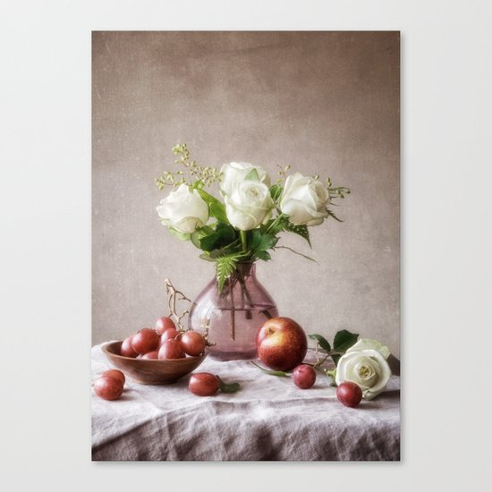 September Table Canvas Print