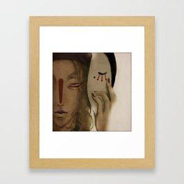 The Medicine Seller Framed Art Print