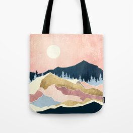 Coral Sunset Tote Bag