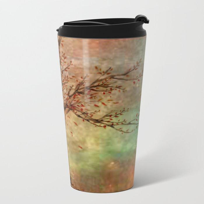 Tree Of Life Metal Travel Mug