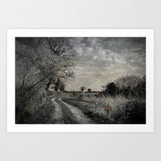 Get Off My Land. Art Print