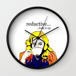 madonna Reductive Wall Clock