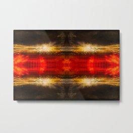 Sedona lights geometry IV Metal Print