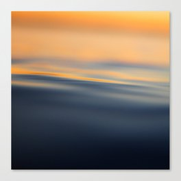 abstract / water Canvas Print