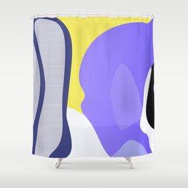 Tropical Fish 3 Shower Curtain