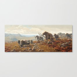 New York Pleistocene Tundra Canvas Print