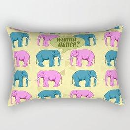 Wanna dance? Rectangular Pillow