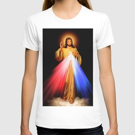 Jesus Divine Mercy I trust in you Religion Religious Catholic Christmas Gift T-shirt