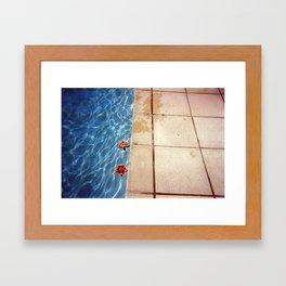 HOCKNEY Framed Art Print