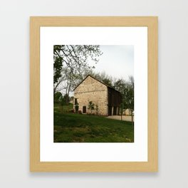 Barn at Duportail House Framed Art Print