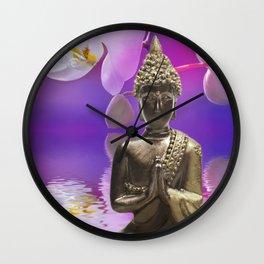 Buddha 12 Wall Clock