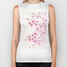 Cherry Blossom Biker Tank